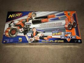 Brand New Sealed Nerf N-Strike Elite Rhino-Fire Blaster - RRP £90