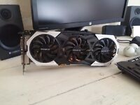 GTX 980 TI GIGABYTE G1 GAMING VIDEO CARD - GV-N98TG1 GAMINNG-6GD 384 BIT