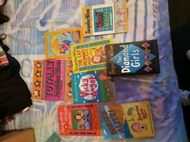 Jacqueline Wilson books and other books
