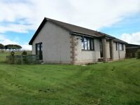 Modern 3 Bedroom Bungalow to let, Rural Location between Banff, Turriff & Foggy