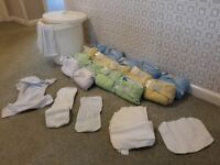Cloth / reusable nappies and extras