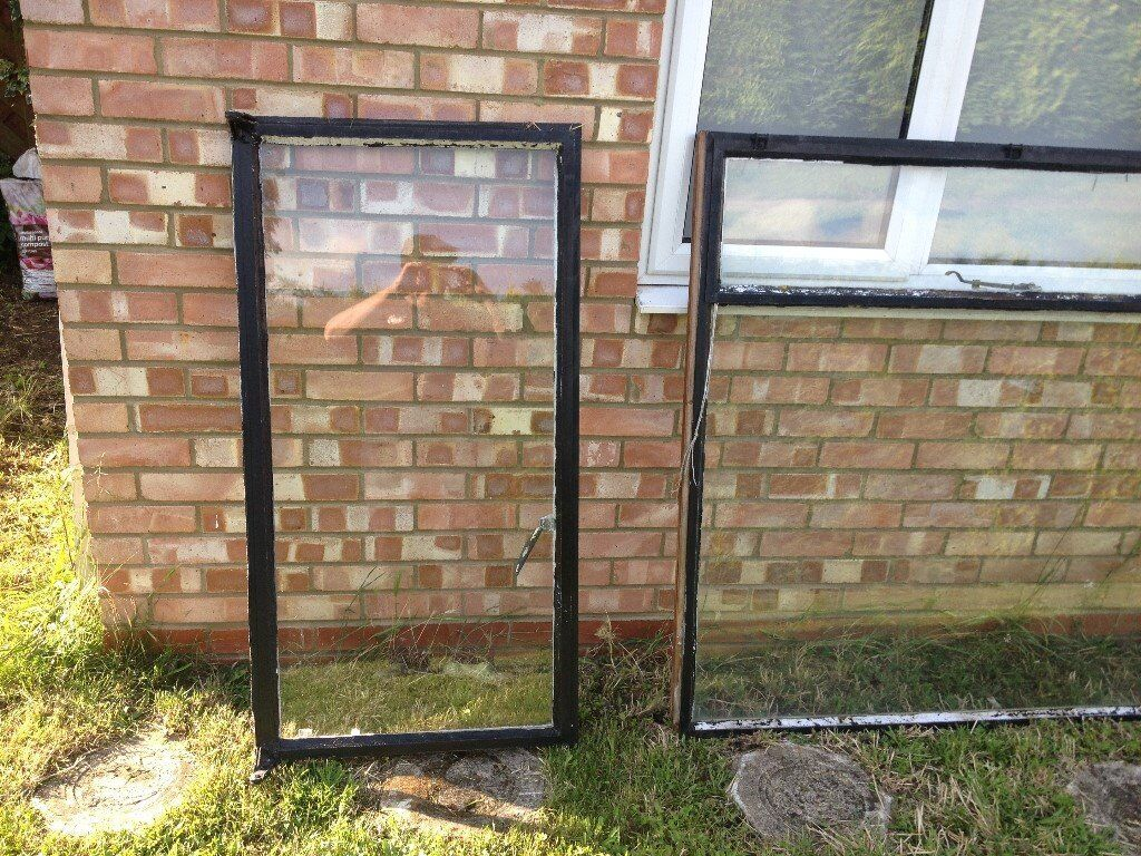 Old Metal Window Frames - 1930s galvanised Crittall type | in ...