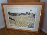John Brunsdon signed limited edition print Bale Oaks 73/350