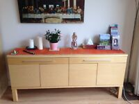 SOLD: Sideboard - Ikea Bjursta in Beech