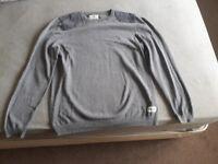 Grey mens jumper