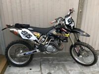 Ktm 450sx road registered