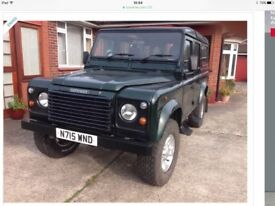 Land Rover 110 DEFENDER COUNTY SWTDI