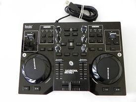 Hercules DJControl Instinct 2 Channel DJ Mixer controller