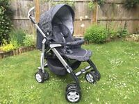 Silver Cross 3D travel system and Ventura plus car seat