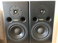 Fostex PM1 Pair Active Studio Monitors for sale
