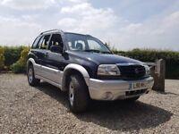 2004 Suzuki Grand Vitara 2.0 16v 4x4 ONLY 63000 miles