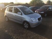 55 reg Kia picanto long mot only 1100 cc engine cheap to tax and run lovely nippy little car px wel
