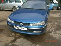 Peugeot 406 estate HDI (110) 1997 cc diesel 52 Reg 2002 BREAKING FOR PARTS / SPARES ONLY.