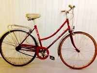 Els wick City Bike three speed hub gears hand operated breaks