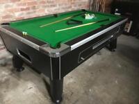 Pool table - pub type - 7 x 4 ft - brand new cloth