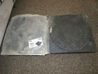 2 x Wavin Osma Drain Sealed and Adjustable Frame Manhole Cover 4D961 250mm *NEW*