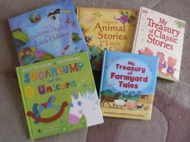 Five Hardback Children's Books