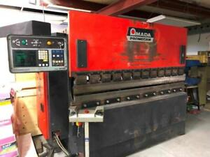 Amada Promecam 80 Tons CNC Press Brake