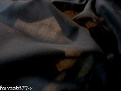 Ägyptische Baumwolle Vorhang (Ägyptische Schwarz Baumwolle Musselin Vorhangstoff 152cm pro / Mtr)