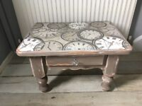 Small table with a draw