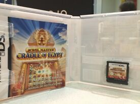 A Nintendo DS Game - Jewel Master Cradle of Egypt