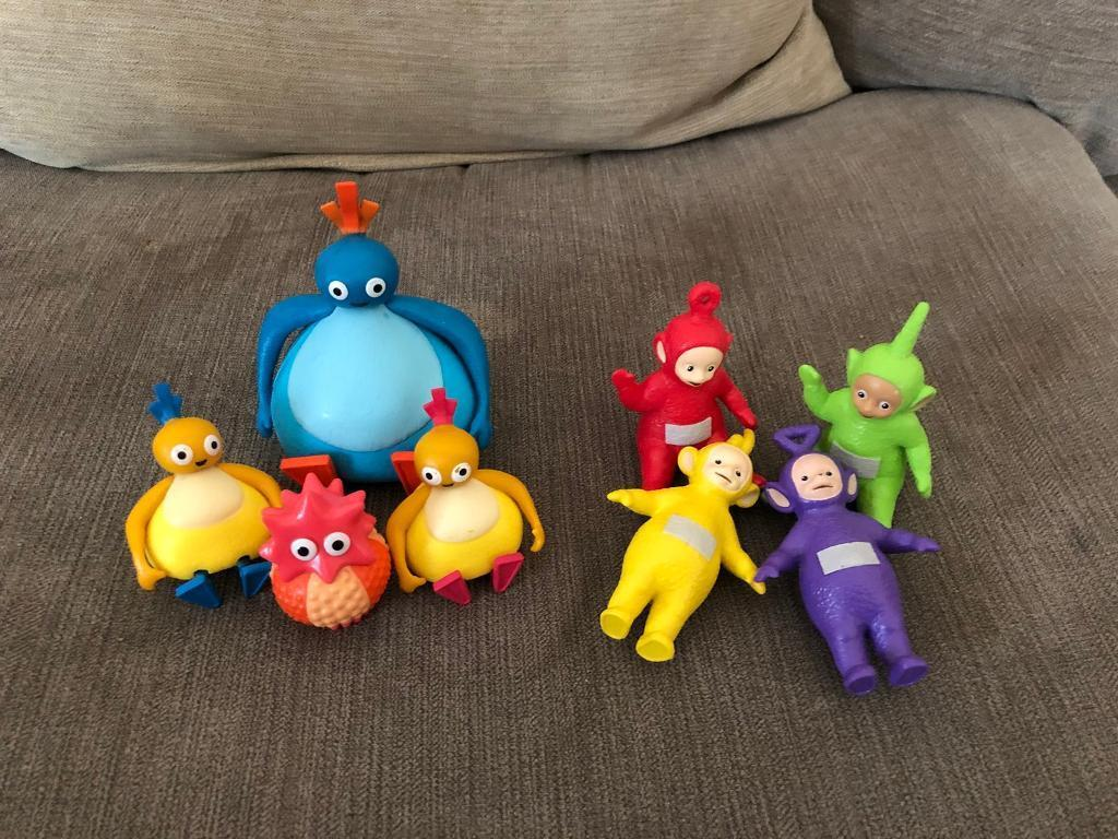 Twirlywoo and teletubbies figures | in Norwich, Norfolk | Gumtree