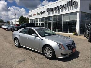 2012 Cadillac CTS CTS4, 3.0L V6, SUNROOF, LEATHE
