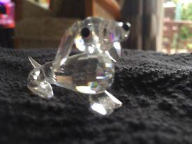 Swarovski used crystal