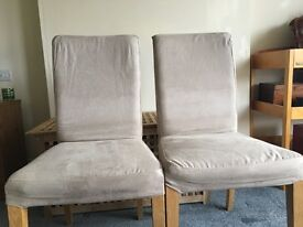Ikea Henriksdal Dining Room Chairs x 2 For Sale