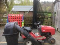 """Ride on Toro lawnmower. 36"""" cutter. Fair goer. Good for spares. £100"""