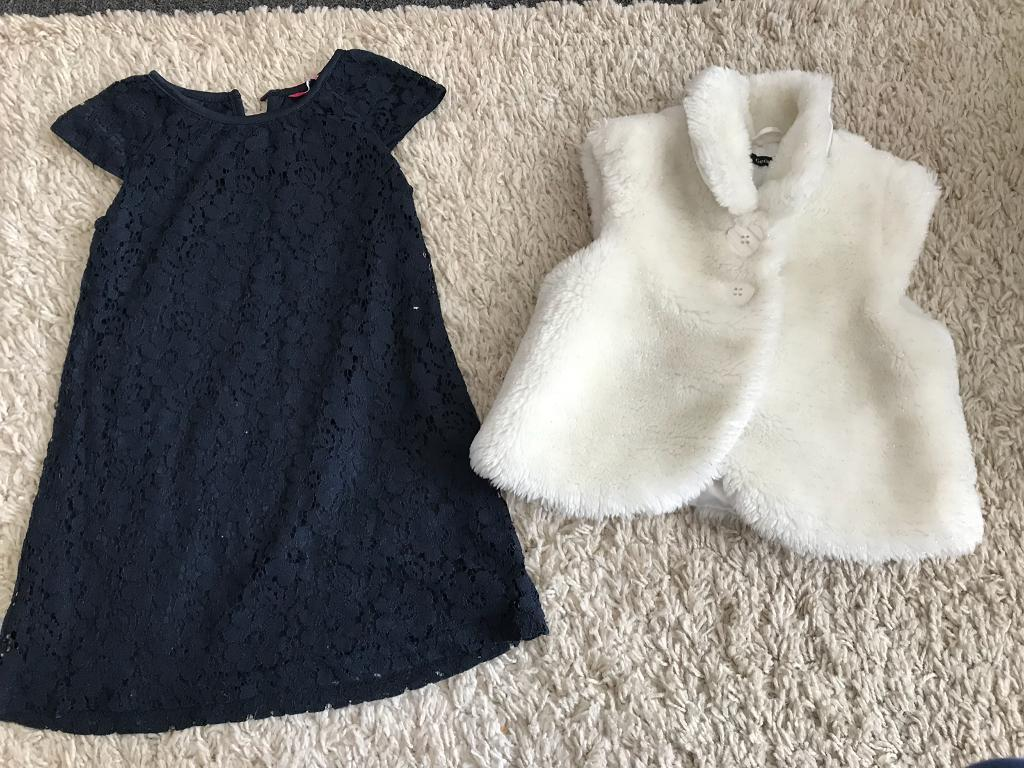 Dress and body warmer 2-3 yrs