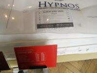Hypnos 2800 Sleepcare pocket sprung double mattress. Less than a month old. Move forces sale.