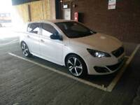 Peugeot 308 Gt Line Hdi Blue S/S peal White