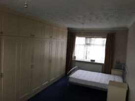 extra large room in a 4 bed house house with excellent facility parking available on the road