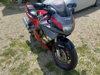 Late 1997 Honda Cbr600 motorcycle motorbike
