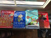 David Walliams Book Bundle
