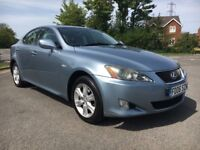 LEXUS IS220D 2.2 DIESEL 4 DOOR SALOON MANUAL *LIKE 3 SERIES*5 SERIES*C-CLASS*MONDEO*A4*INSIGNIA