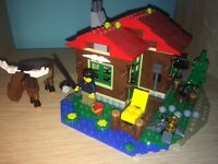 LEGO Creator 3 in 1 Lakeside Lodge 31048 WITH INSTRUCTIONS Great condition