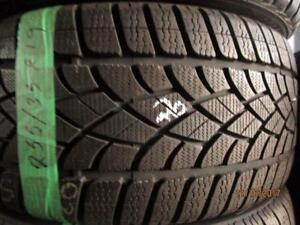 4  USED 245/50R20 TOYO WINTER TIRES