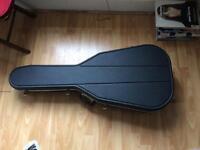 Hiscox liteflite acoustic guitar flight case