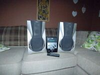 Sony turntable and speakers and JVC mini system