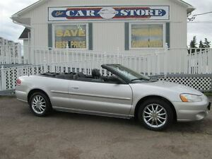 2003 Chrysler Sebring LIMITED!!!! A/C!! HTD LTHR!! ALLOYS!! LO