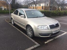 Automatic Skoda Superb for sale