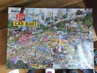 Brand new Mike Jupp I love car boot sales puzzle