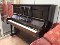 Antique Claremont Piano made by Murdoch of London