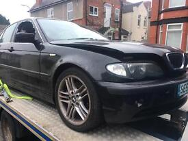 Bmw 330d 52 plate breaking for parts all parts available