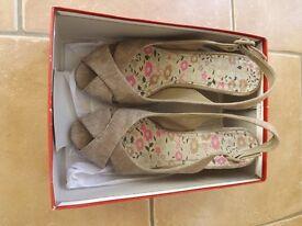 Wedge Sandals Barratts Size 5