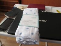 BABYS SWADDLE WRAP NEW WITH COVER AND CONFORTER NEW