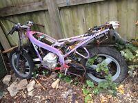Aprilia RS 49cc spares or project bike