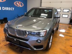 2015 BMW X3 xDrive28i AWD! HEATED STEERING WHEEL!